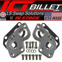 Converts BBC Pump to LS Engine LS Electric Water Pump Adapter Plates