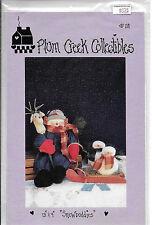 "Plum Creek Collectibles #118 - 13"" & 4"" Snowbuddies - Tammy De Young - 1994"