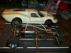 VINTAGE MPC BRASS CHASSIS SLOTCAR