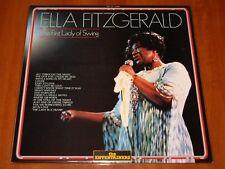 ELLA FITZGERALD THE FIRST LADY OF SWING LP *RARE* ENT PRESS VINYL ITALY LTD New