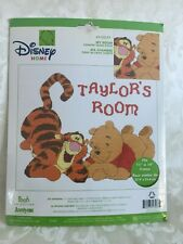 Disney Home Winnie The Pooh Tigger My Room Counted Cross Stitch Kit #1132-77