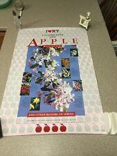 I Love NY New York Apple Blossom Poster Art NYSDED Catskills 1980s Vintage