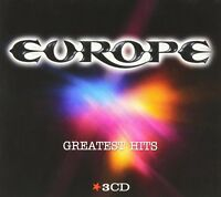 EUROPE - GREATEST HITS 3 CD NEW!