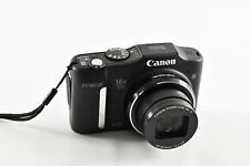 Canon PowerShot SX160 IS 16.0MP Digital Camera - Black GREAT COND.