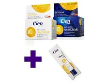 CIEN Q10 ANTI-WRINKLE DAY & NIGHT FACE AND EYE CONTOUR CREAM, HYPOALLERGENIC
