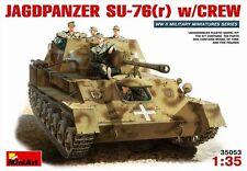 1/35 MiniArt  35053 German Jagdpanzer SU-76(r) with Crew (5 Figures) Plastic Kit