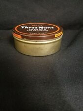 """vintage Three Nuns tobacco tin, great graphics & colors, """"none nicer"""" round tin"""