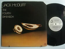 JACK McDUFF The Fourth Dimension JAZZ Promo LP CADET