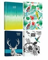 2020 A5 Week To View Diary Office Organiser Home Daily Planner Hardback