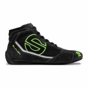 New Sparco Slalom Kart Racing Shoes Black