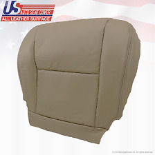 2005 Toyota Tundra Front Driver Bottom Side Replacement Seat Cover Leather Gray