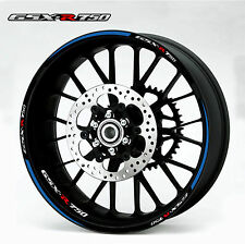 SUZUKI GSXR 750 CUSTOM RIM STRIPES WHEEL DECAL TAPE STICKER