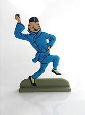 Figurine en métal Tintin Lotus bleu ETAT NEUF
