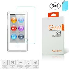 3x Nacodex For iPod Nano 7th Generation Premium Tempered Glass Screen Protector