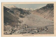Switzerland, Andermatt, Hotel Monopol Advert Postcard #1, A861