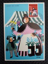 NIEDERLANDE MK 1967 VOOR HET KIND MAXIMUMKARTE CARTE MAXIMUM CARD MC CM c1773