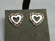 Clogau Silver & Rose Welsh Gold 'One' Stud Earrings RRP £250.00