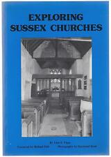 Exploring Sussex Churches - John E Vigar Paperback 1st edition