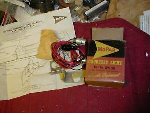 NOS MOPAR 1960-1 ACCESSORY COURTESY LAMPS PLYMOUTH DODGE
