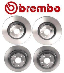 Brembo Front & Rear Disc Brake Rotors Kit For Saab 9-2x Subaru Impreza Forester