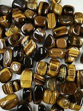 """Wholesale Lot 10Lbs Natural Tumbled tiger eye gemstone crystal 1-1.5"""" 250pcs up"""
