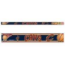 CLEVELAND CAVALIERS TEAM LOGO 6-PACK PENCILS BRAND NEW FREE SHIPPING WINCRAFT