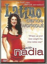 Latino Dance Workout With Nadia (DVD, 2004)