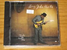 "LONG JOHN HUNTER - ""RIDE WITH ME"" -  BRAND NEW BLUES CD"
