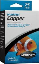 Seachem MultiTest COPPER Liquid Water Test Kit for Freshwater Marine Aquariums