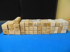 Lot Of 40 ~ Assorted Vacuum Tubes ~ Vintage ~ In Original Box ~ RH102x
