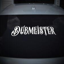 Dubmeister grand pour arrière voiture fenêtre / mur / porte Autocollant Vinyle Autocollant TOUTE COULEUR