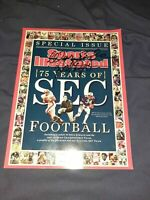 Pat Dye Auburn Tigers Autographed Signed Sports Illustrated Special SEC Issue