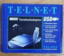 Telnet ISDN Terminaladapter USB
