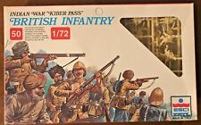 "ERTL #232 - Indian War ""Kiber Pass"" British Infantry - 1/72 Model Soldiers - MIB"