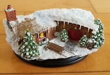 Weta Workshop LOTR Hobbit Hole 35 Bagshot Row Christmas Edition SEALED