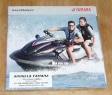 YAMAHA WAVERUNNER BROCHURE + PRICE LIST 2009 + Special Offers 1 Pager