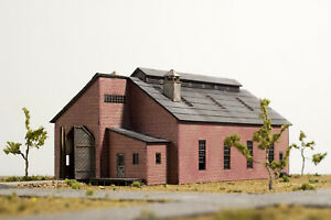 Laser Cut N Scale 2 Stall Engine House KIT.