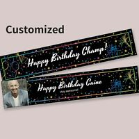 Custom Made Party Banner for Birthdays Weddings Celebration Decoration Supplies