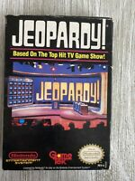 Original Nintendo NES Game Jeopardy In Original Box