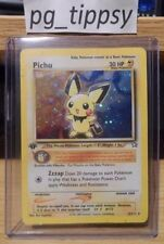 Neo Genesis 1x Pokémon Individual Cards with First Edition