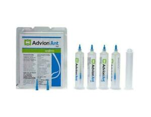 Ant Gel Bait - 4 syringes  with FREE 1 Plunger and 2 Top  Fast FREE SHIPPING