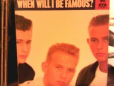 """BROS....When Will I Be Famous 1988 5 Mix 12"""" single and Interview Pic Disc"""
