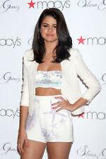 Selena Gomez With White Short 8x10 Picture Celebrity Print
