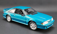1993 Ford Mustang Cobra 5.0 Teal with Black Cloth GMP PRE-ORDER LE MIB