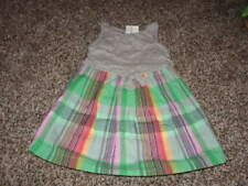 NWT NEW BABY GAP 3 YRS 3T PLAID DRESS UP KNOT