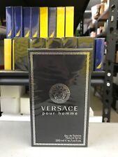 Versace Pour Homme Men 6.7 OZ 200 ML Eau De Toilette Spray Nib Sealed