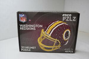 Redskins 3D HELMET Puzzle FOCO Forever Collectibles PZLZ NFL