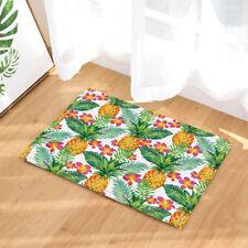 Tropical Pineapple With Leaves bathroom Non-Slip Outdoor Indoor Front Door Mat