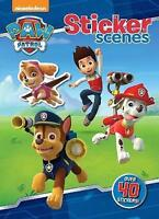 Paw Patrol Sticker Scenes Activity Book, New, 40 plus Stickers