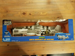 "North American P-51D Mustang Elite Force MISB 1:18 ""KIller"""
